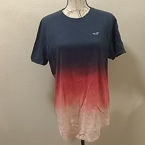Hollister men's  ombre shirt